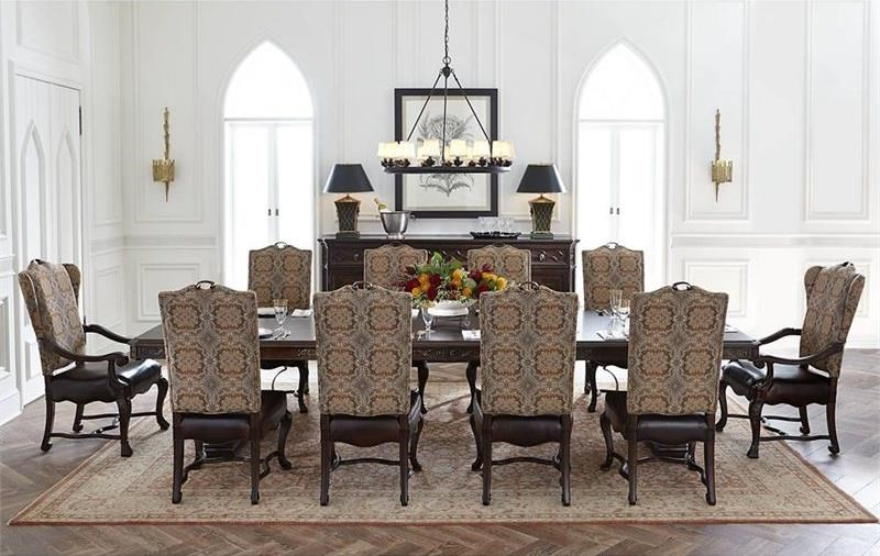 Stanley Furniture Casa Du0027Onore 11 Piece Formal Table U0026 Chair Set
