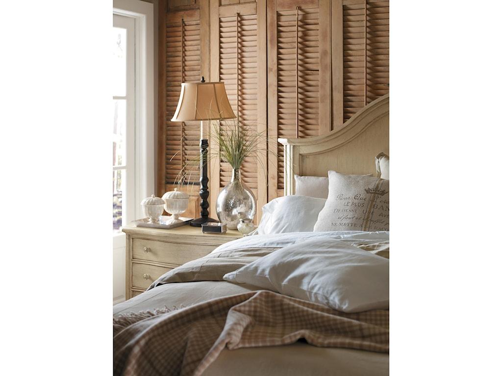 Stanley Furniture European CottageKing Panel Bed