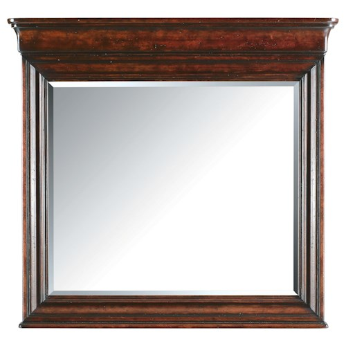 Stanley Furniture The Classic Portfolio - Louis Philippe Landscape Mirror