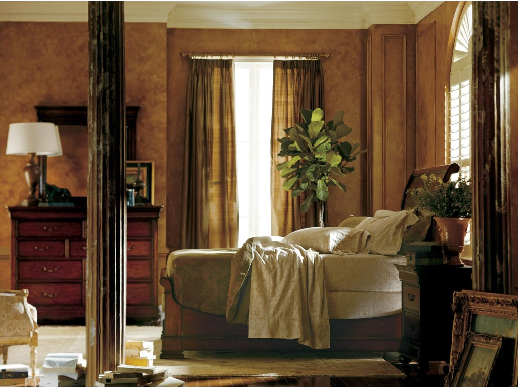 Shown with Nightstand and Dressing Chest & Mirror
