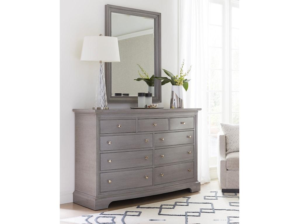 Stanley Furniture TransitionalDresser with Mirror