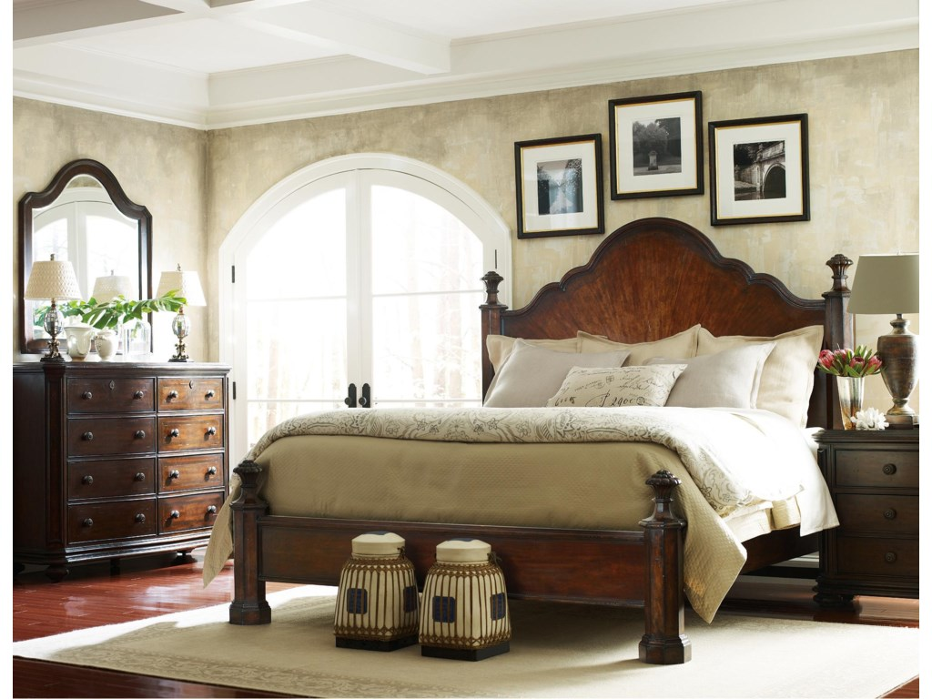 Shown with Mirror, Mansion Bed, and Night Stand