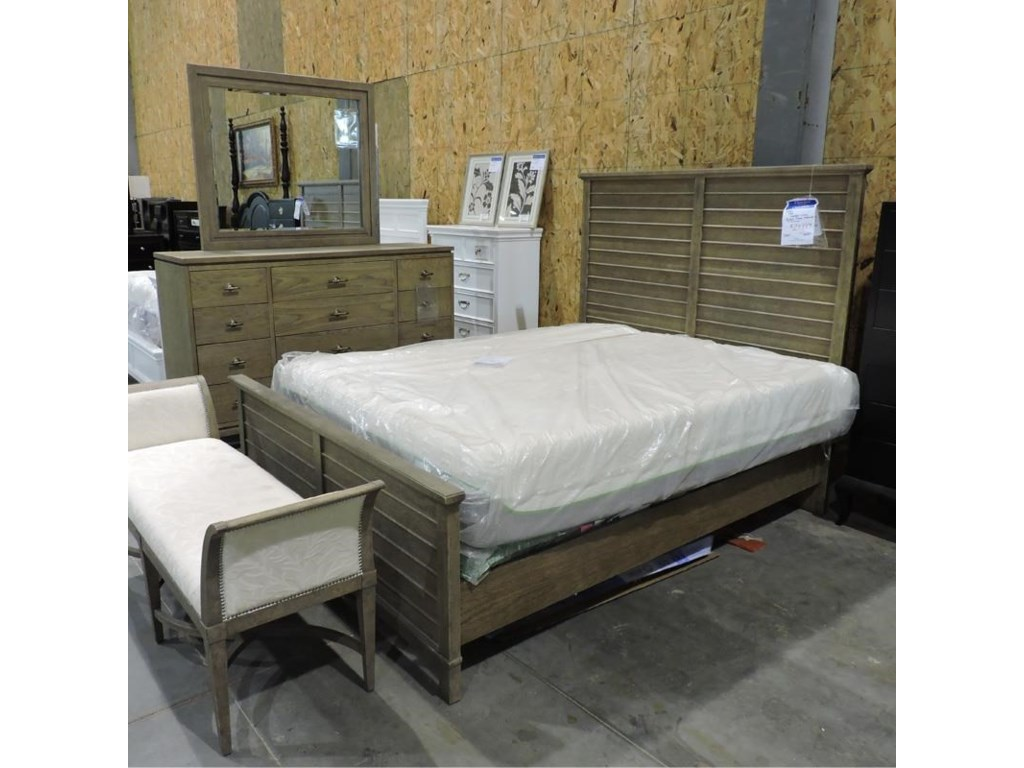 Stanley Furniture ClearanceQueen Bed and Dresser + Mirror