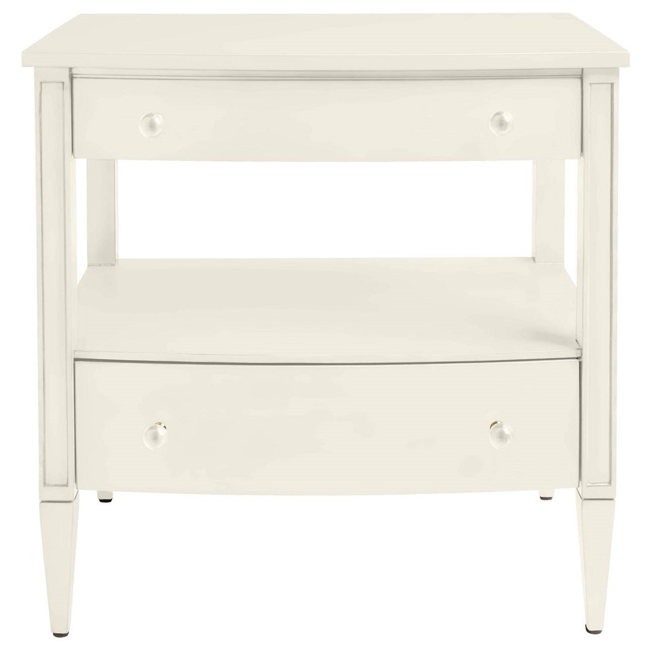Stanley Furniture Coastal Living Oasis Mulholland Nightstand With 2 Drawer  U0026 1 Shelf