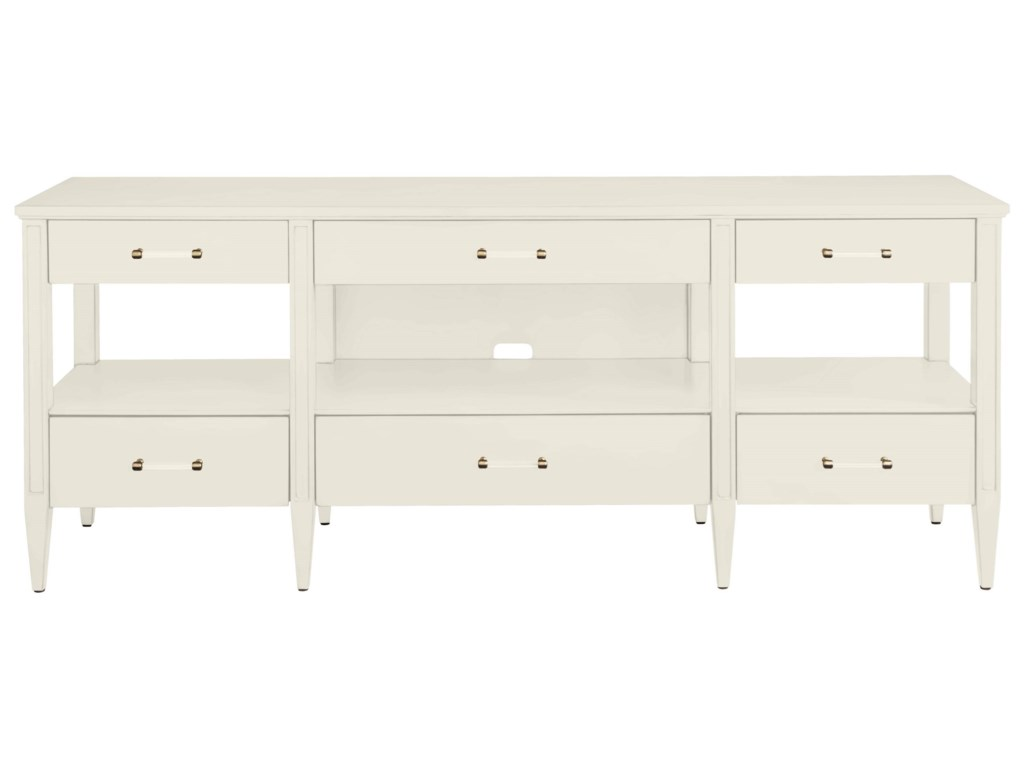 stanley furniture coastal living oasis mulholland media console with