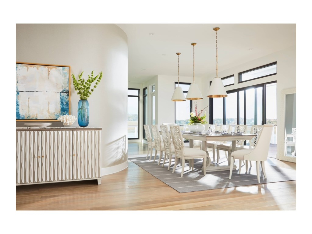 Stanley Furniture Coastal Living Oasis Tides Buffet with Lay-On ...