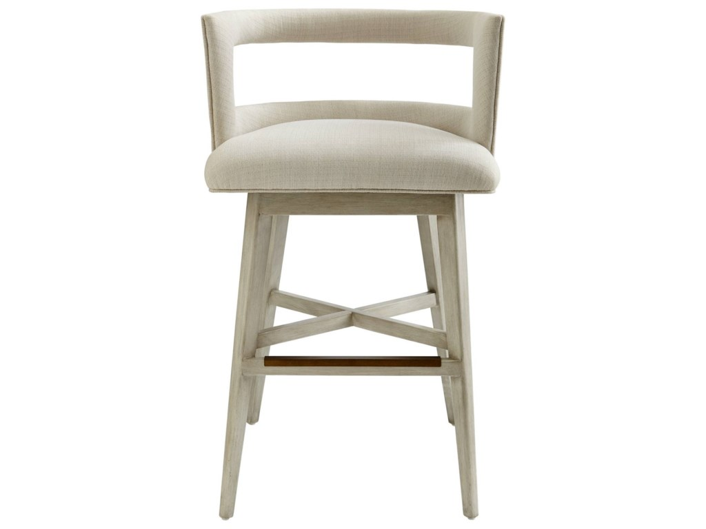 . Coastal Living Oasis Crestwood Barstool with Swivel Seat by Stanley  Furniture at Baer s Furniture