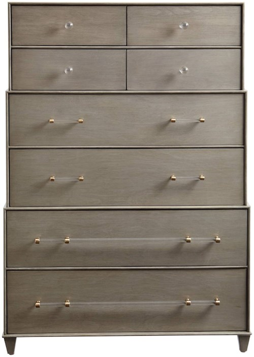 Stanley Furniture Coastal Living Oasis Mulholland Drawer Chest with Graduated Drawers