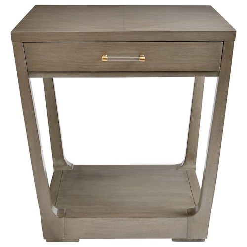 Stanley Furniture Coastal Living Oasis Meridian Square Lamp Table