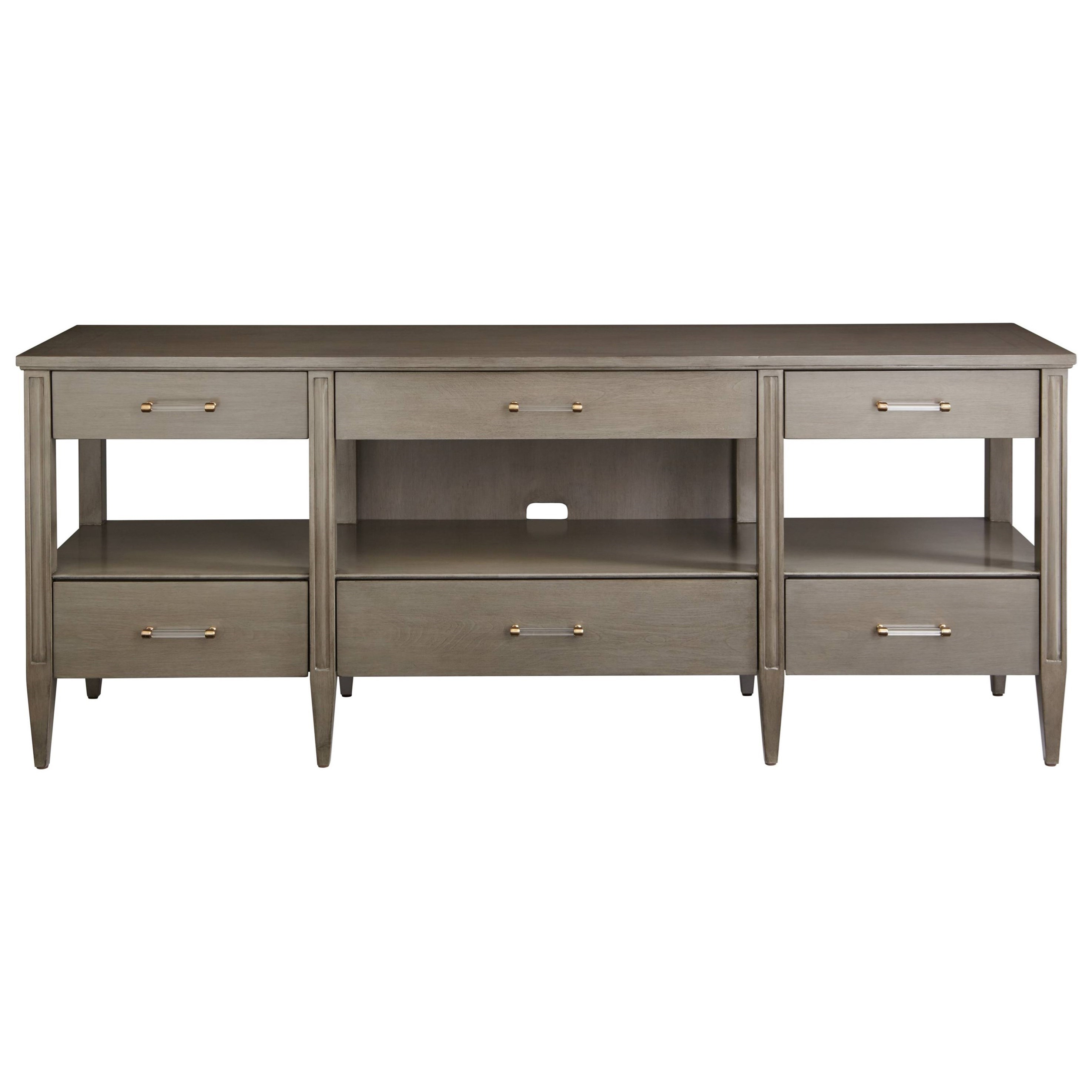 Stanley Furniture Coastal Living Oasis Mulholland Media Console With  Drop Down Drawer