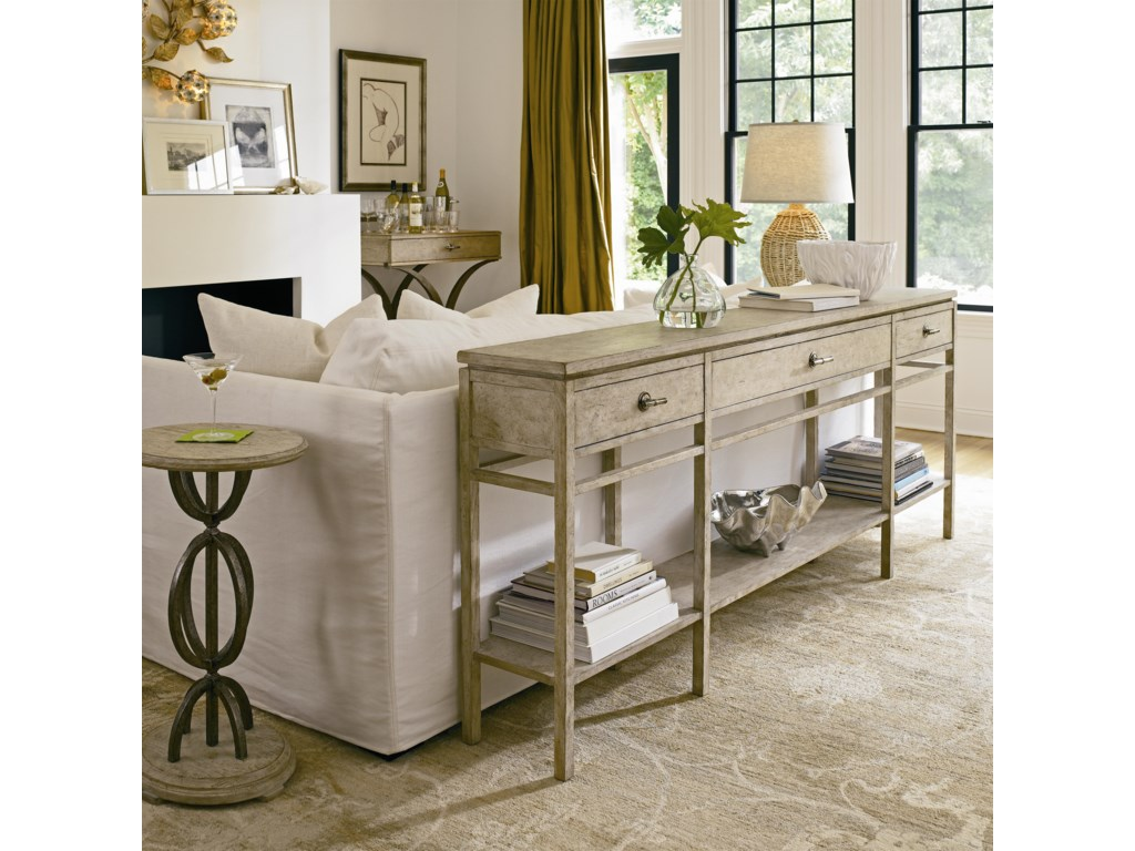 Shown with Palisades Sofa Table and Sol Playa Martini Table