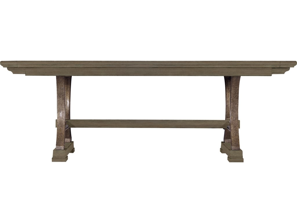 Stanley furniture coastal living resort shelter bay table with stanley furniture coastal living resort shelter bay table with pewter pedestals and 2 bread board leaves miskelly furniture dining tables geotapseo Choice Image