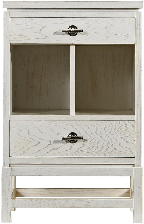 Stanley Furniture Coastal Living Resort Tranquility Isle Telephone Table with 2 Drawers