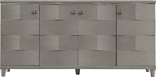 Stanley Furniture Coastal Living Resort Ocean Breakers Console with Pocket Doors