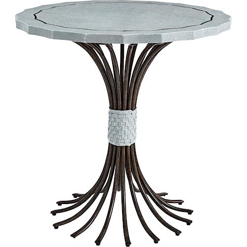 Stanley Furniture Coastal Living Resort Eddy's Landing Lamp Table
