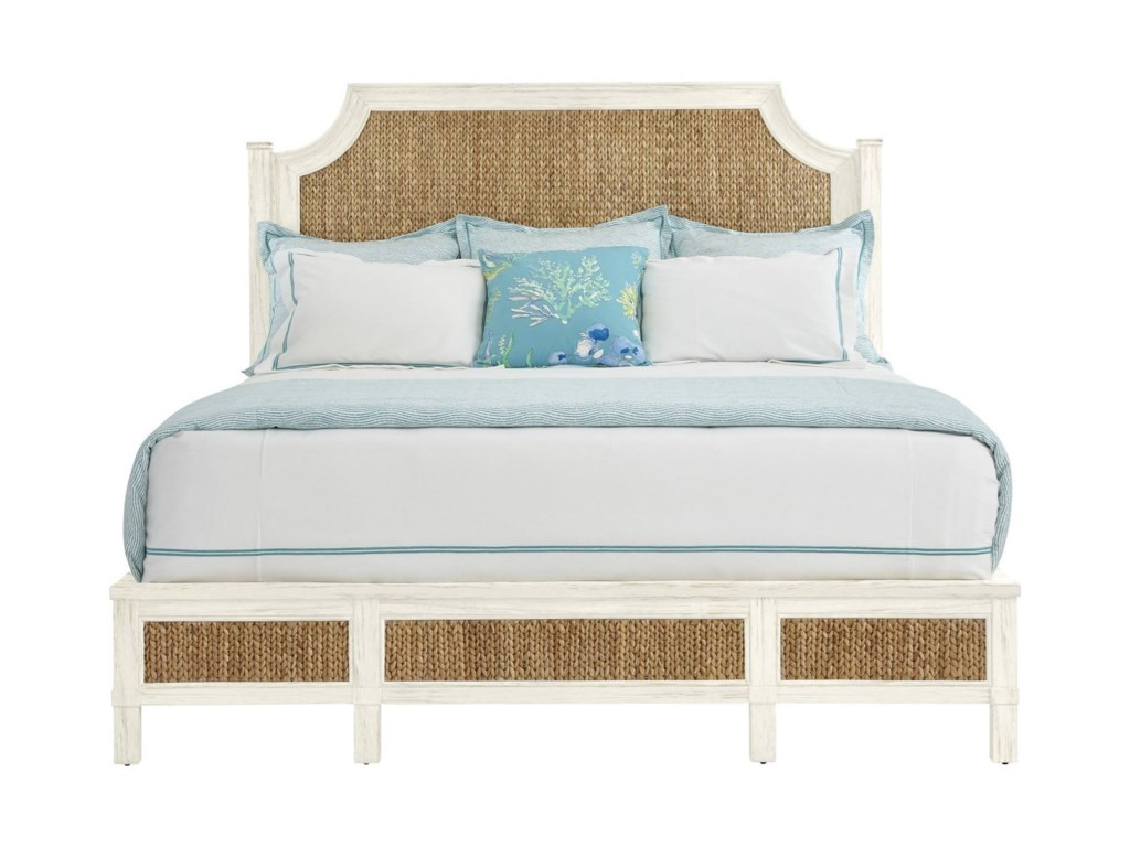 Stanley Furniture Coastal Living ResortKing Water Meadow Woven Bed
