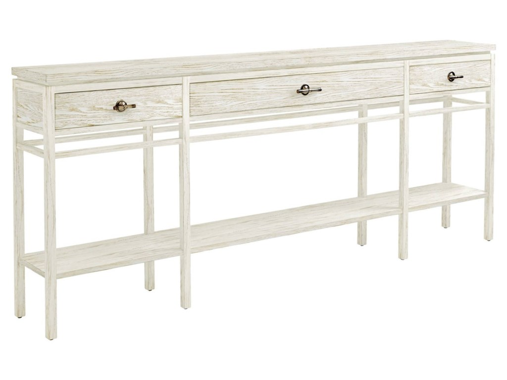 Stanley furniture coastal living resort 3 drawer palisades sofa shown in nautical white geotapseo Image collections