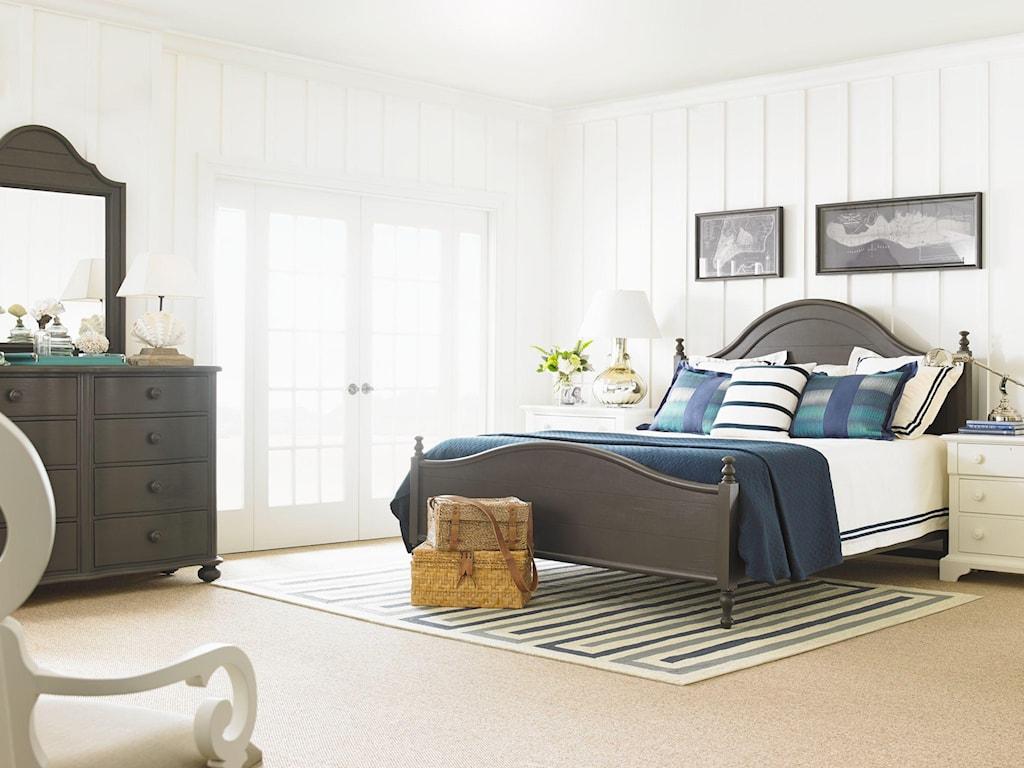 Stanley Furniture Coastal Living Retreat Queen Bungalow Bed ...