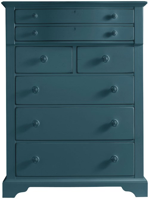 Stanley Furniture Coastal Living Retreat Chest with 7 Drawers