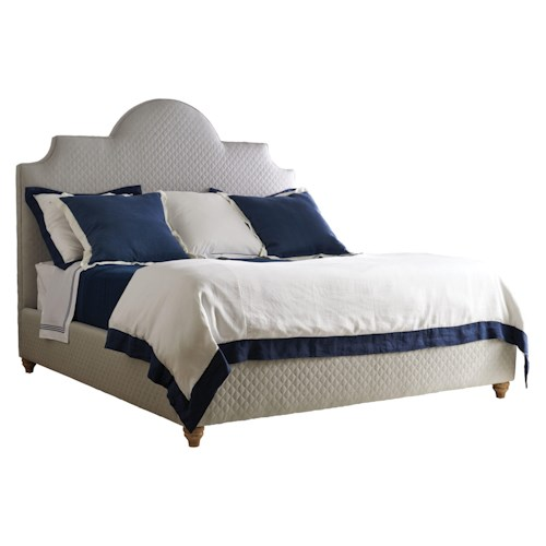 Stanley Furniture Coastal Living Retreat Queen Breach Inlet Bed