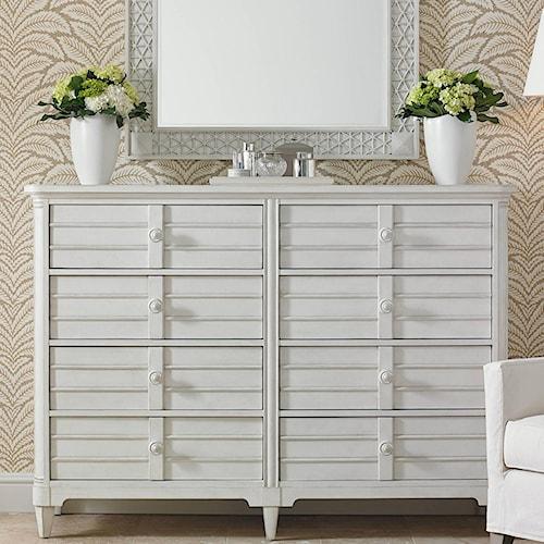 Stanley Furniture Cypress Grove  Cottage Style Dresser with Mirror