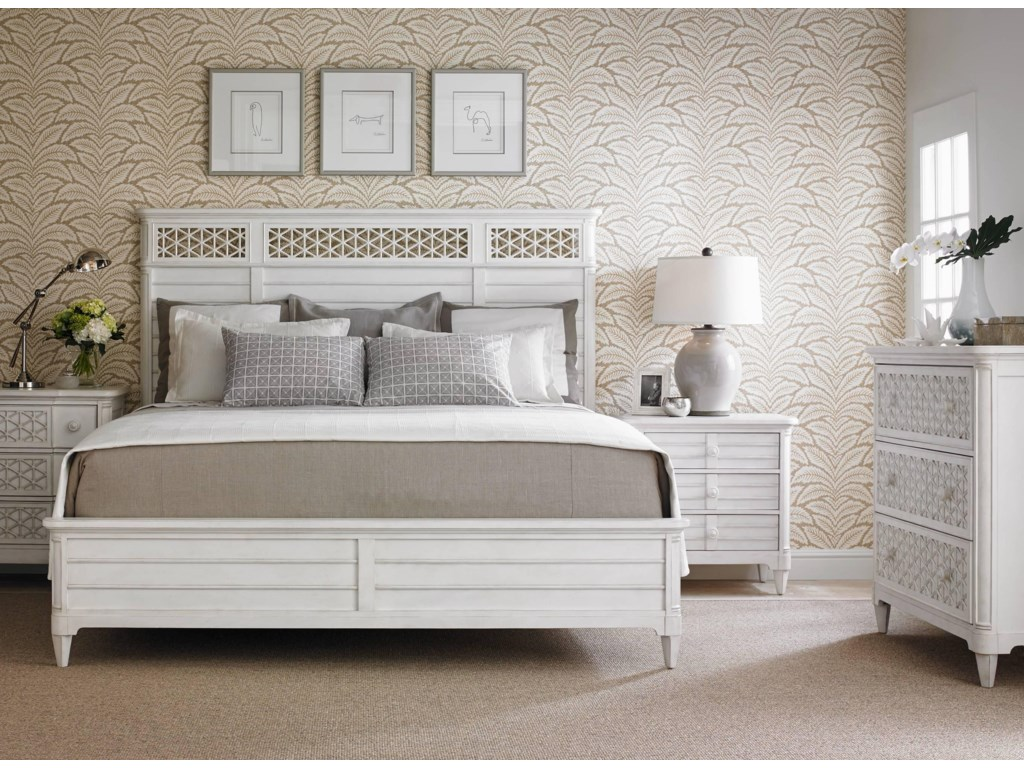 Stanley Furniture Cypress Grove Queen Wood Panel Headboard