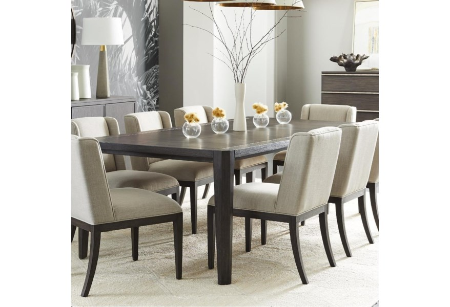 Stanley Furniture Horizon 831 G1 36 76 Rectangular Dining Table Dunk Bright Furniture Dining Tables