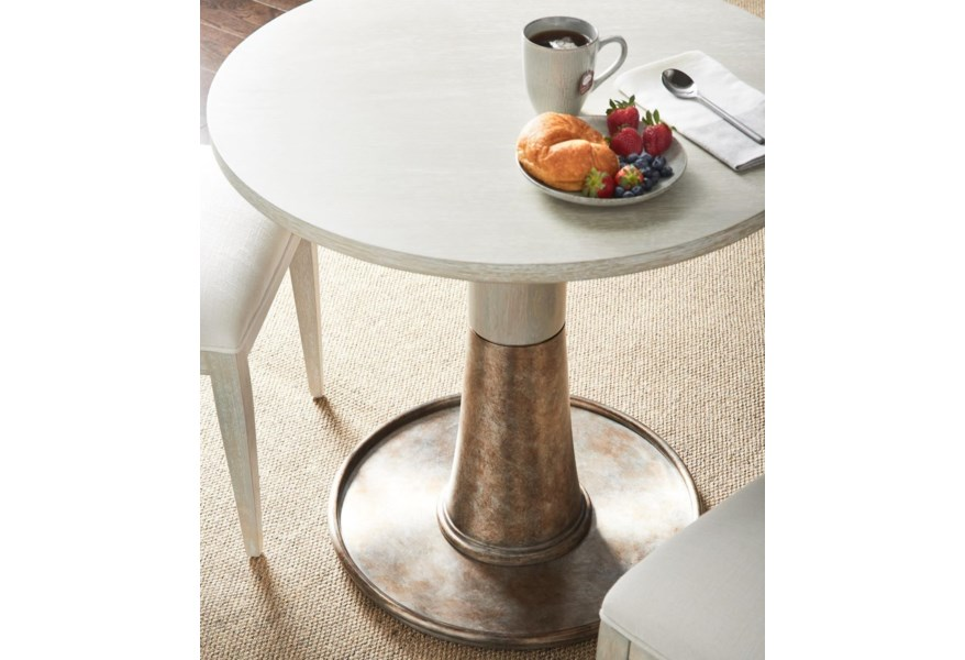 Stanley Furniture Horizon 831 H1 30 32 Bistro Table With