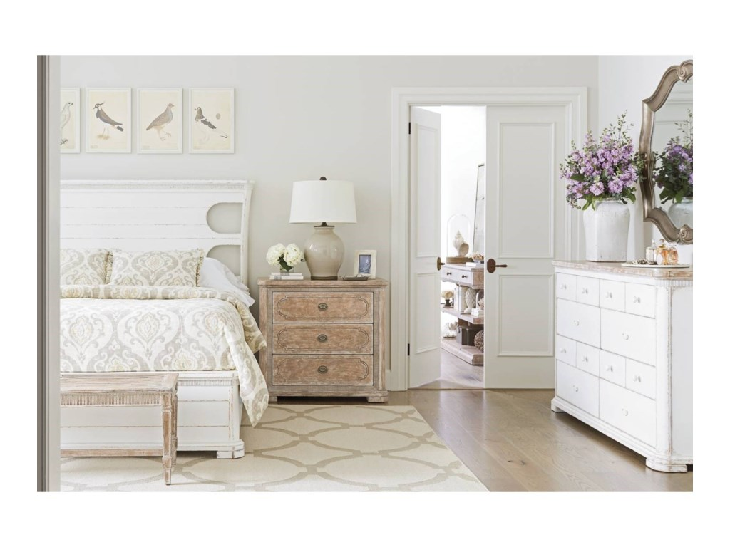 a3ed89585b3 Stanley Furniture Juniper Dell Queen Bedroom Group | Dunk & Bright ...