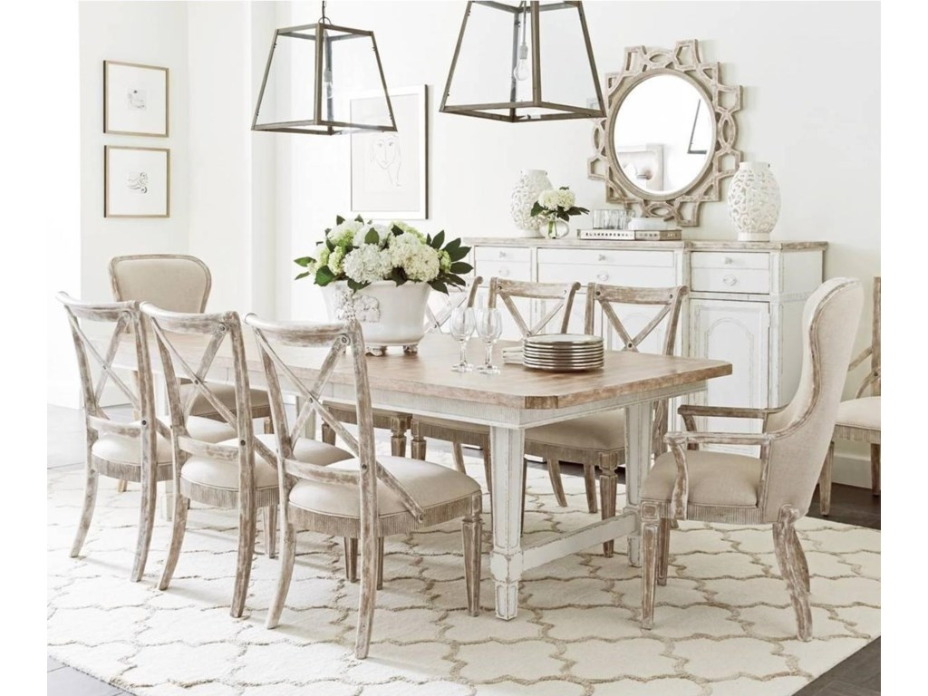 Stanley Furniture Juniper Dell9 Piece Dining Table Set