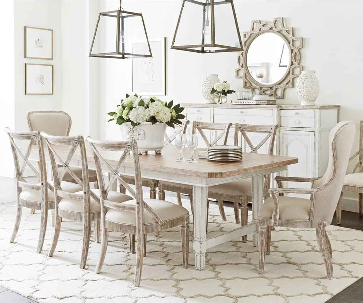 Stanley Furniture Juniper Dell9 Piece Dining Table Set ...