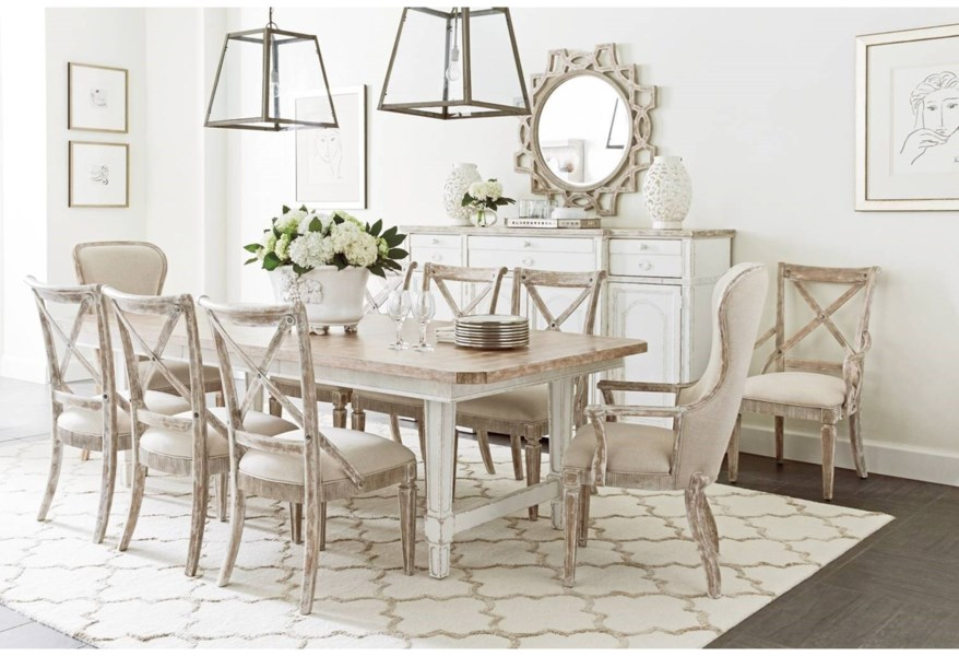 Juniper Dell 9 Piece Dining Table Set By Stanley Furniture At Dunk Bright