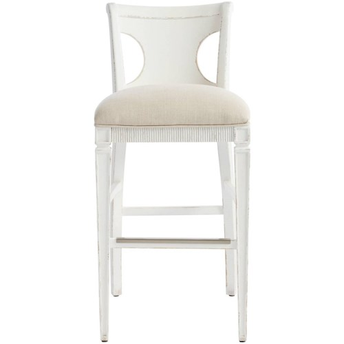 Stanley Furniture Juniper Dell Barstool with Upholstered Seat