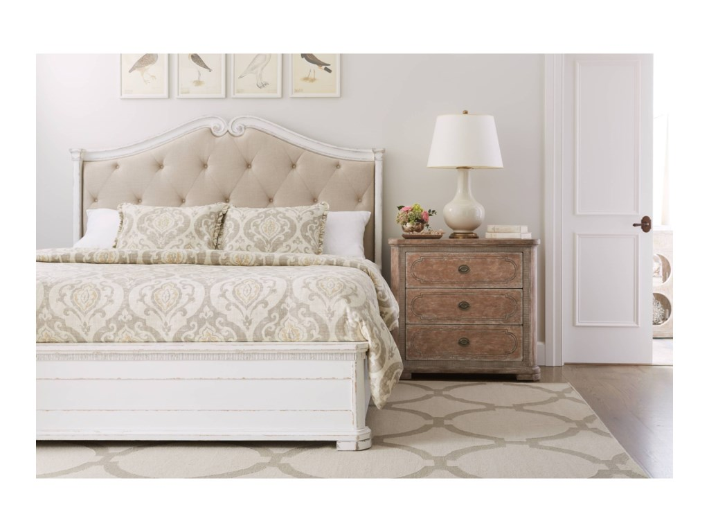 Stanley Furniture Juniper DellQueen Upholstered Bed