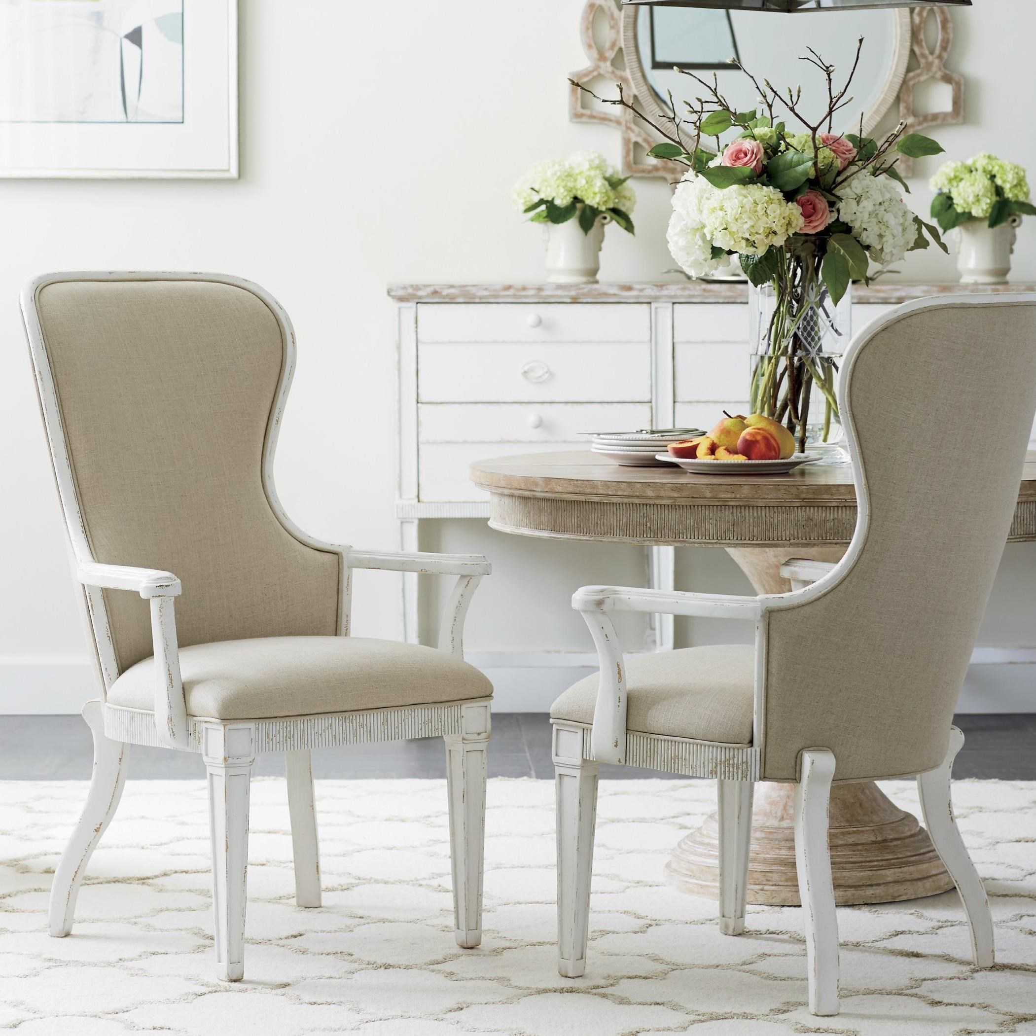 Stanley Furniture Juniper Dell 3-Piece Round Dining Table Set