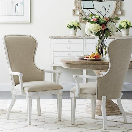 Stanley Furniture Juniper Dell 3-Piece Round Dining Table Set ...