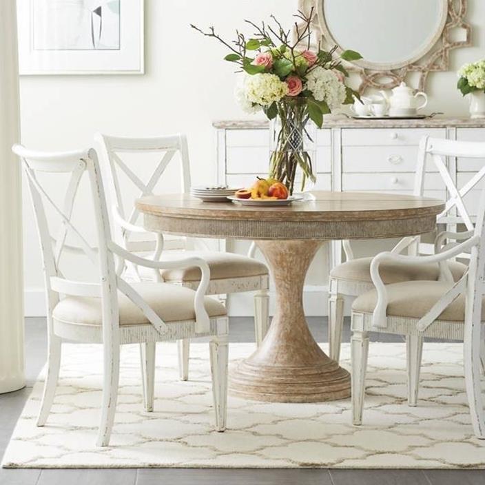 Stanley Furniture Juniper Dell 5 Piece Round Dining Table Set