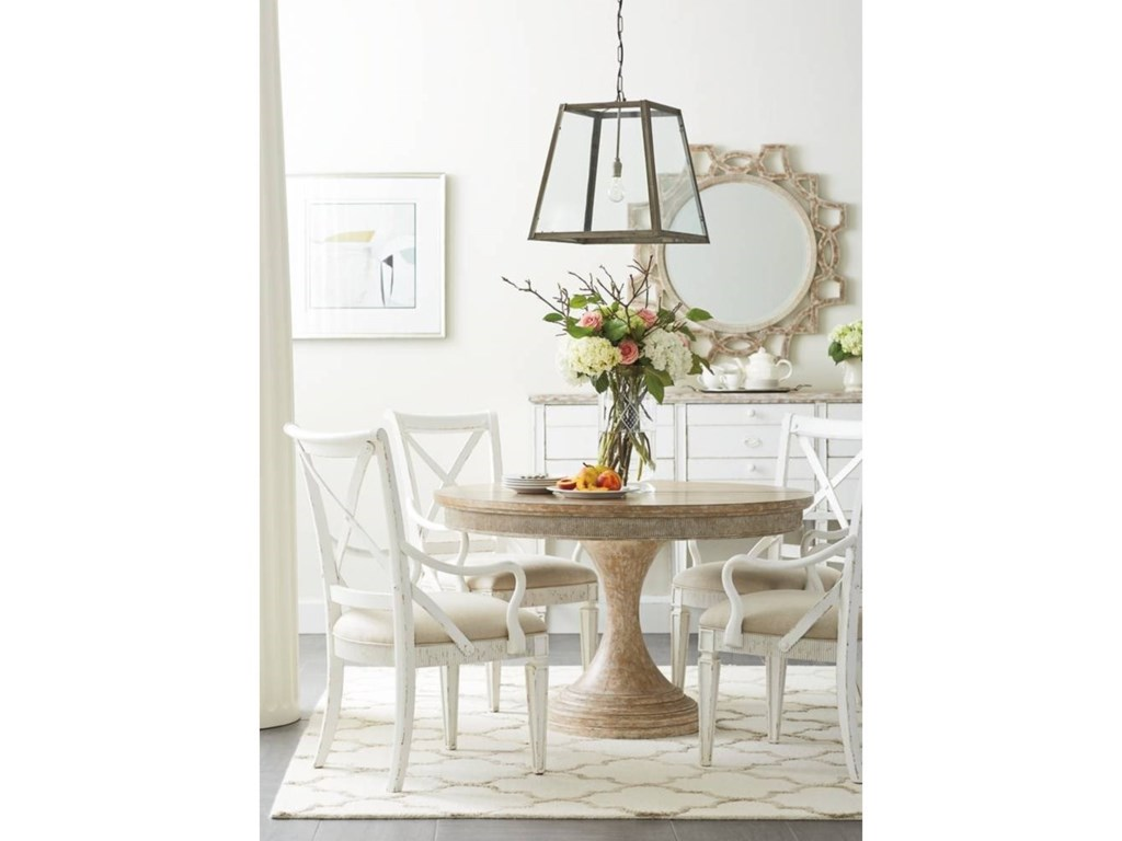Stanley Furniture Juniper Dell5-Piece Round Dining Table Set