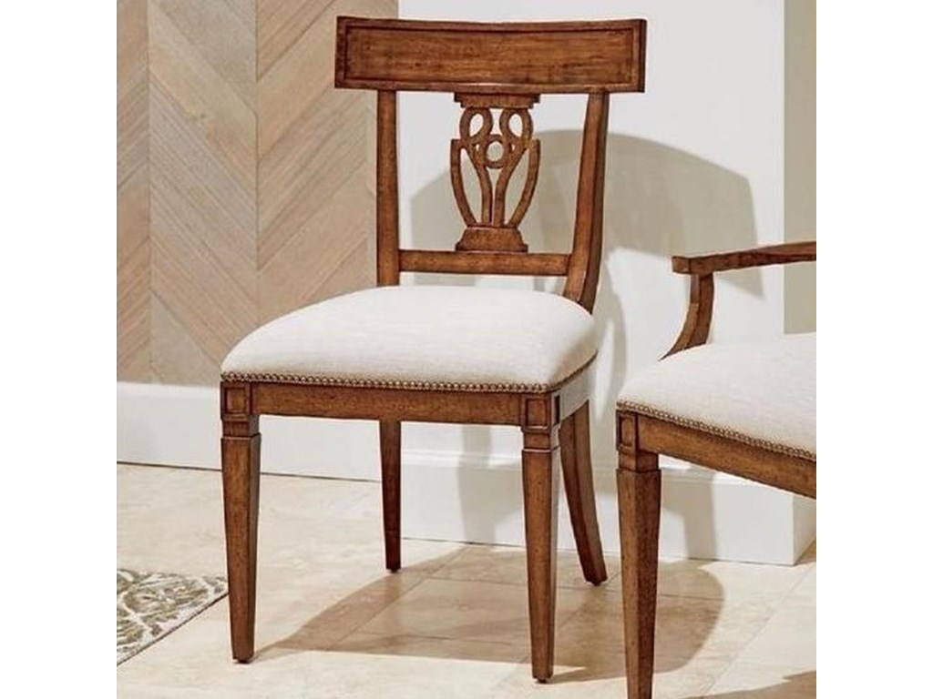 Stanley Furniture Old TownWood Back Side Chair