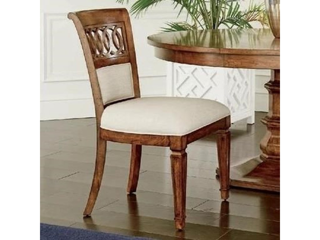 Stanley Furniture Old TownUpholstered Back Side Chair