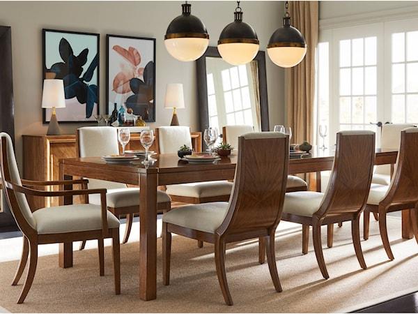 Stanley Furniture Panavista Formal Dining Room Group