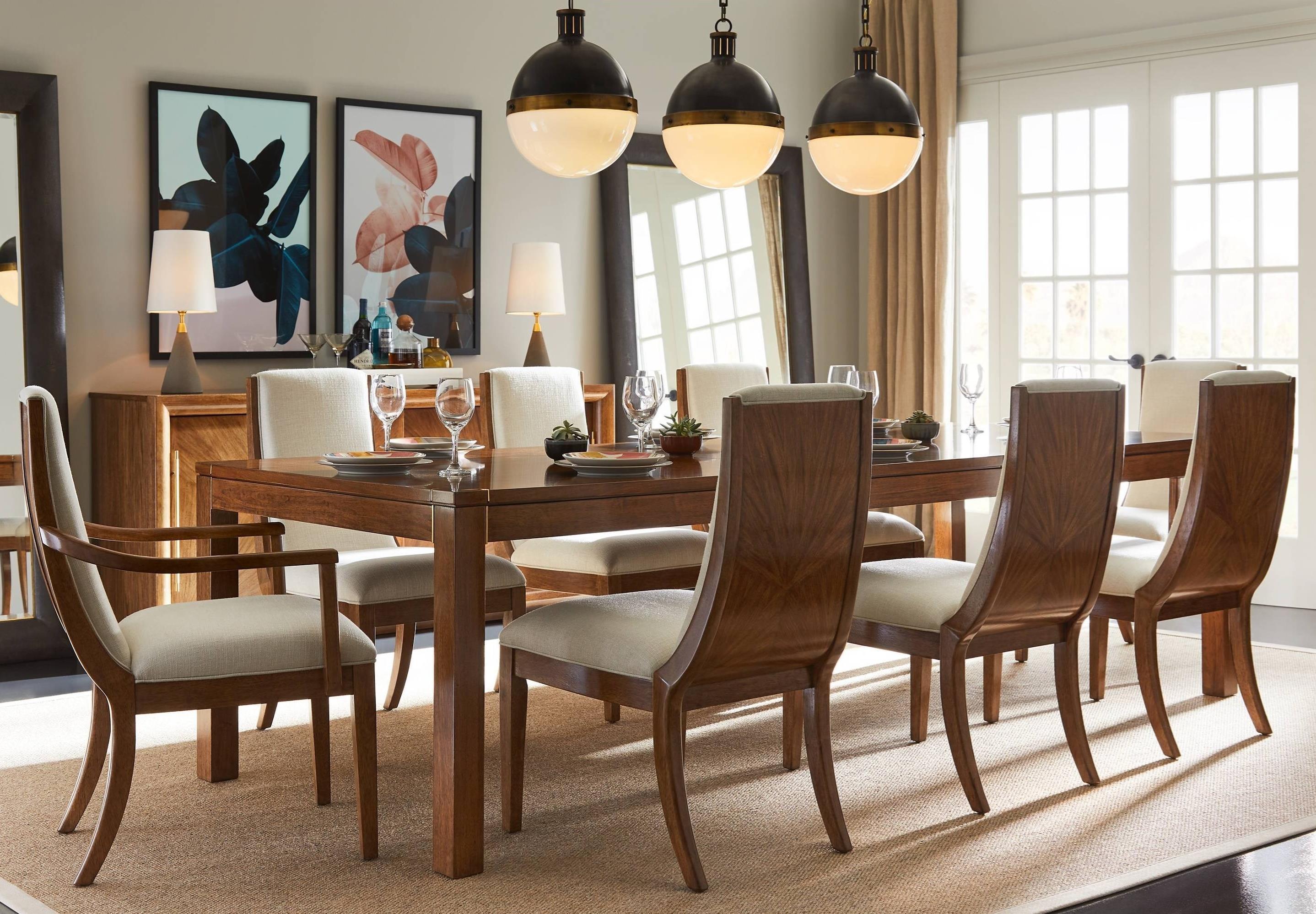 Charmant Stanley Furniture Panavista9 Piece Archetype Dining Table Set ...