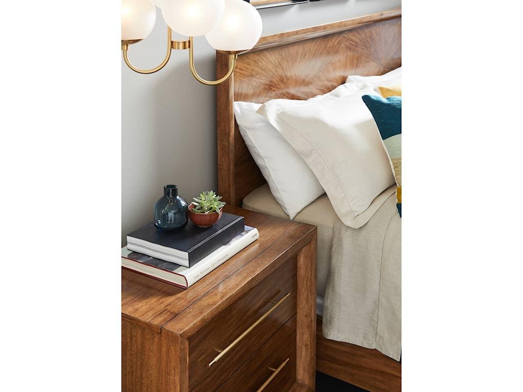 Stanley Furniture PanavistaQueen Panorama Panel Bed