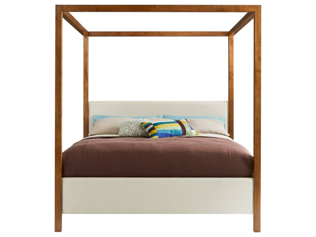 Stanley Furniture PanavistaQueen Archetype Canopy Bed