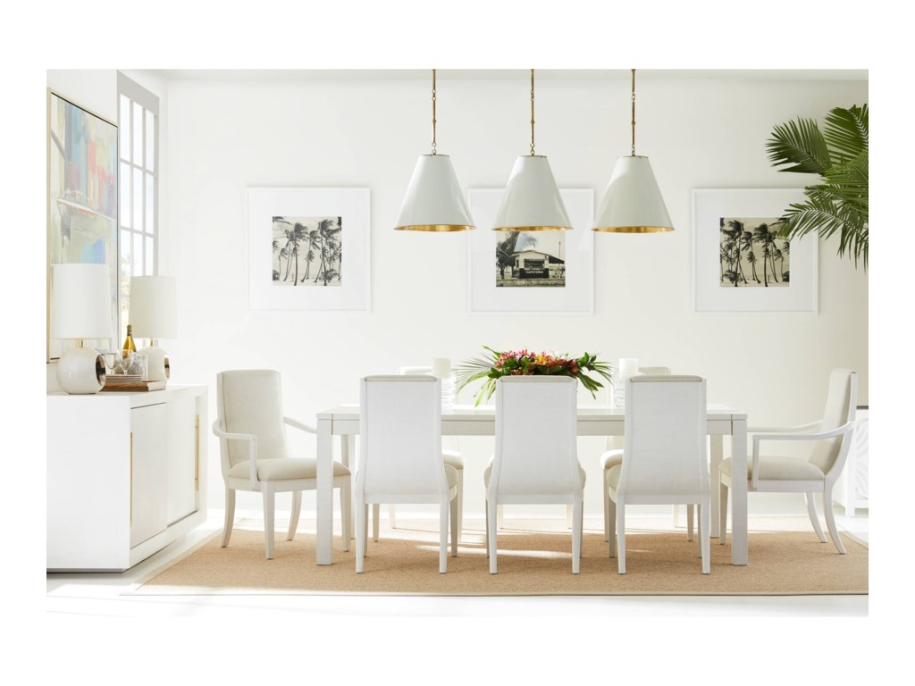Stanley Furniture Panavista9-Piece Archetype Dining Table Set