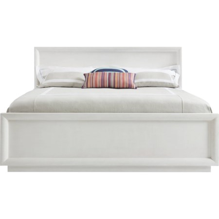 Queen Panorama Panel Bed