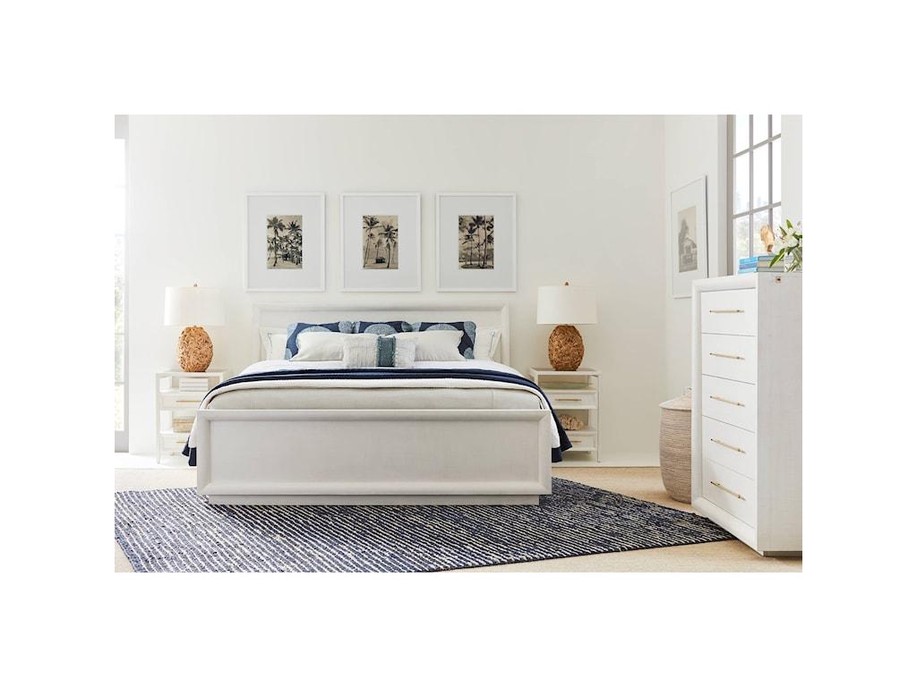 Stanley Furniture PanavistaCalifornia King Panorama Panel Bed