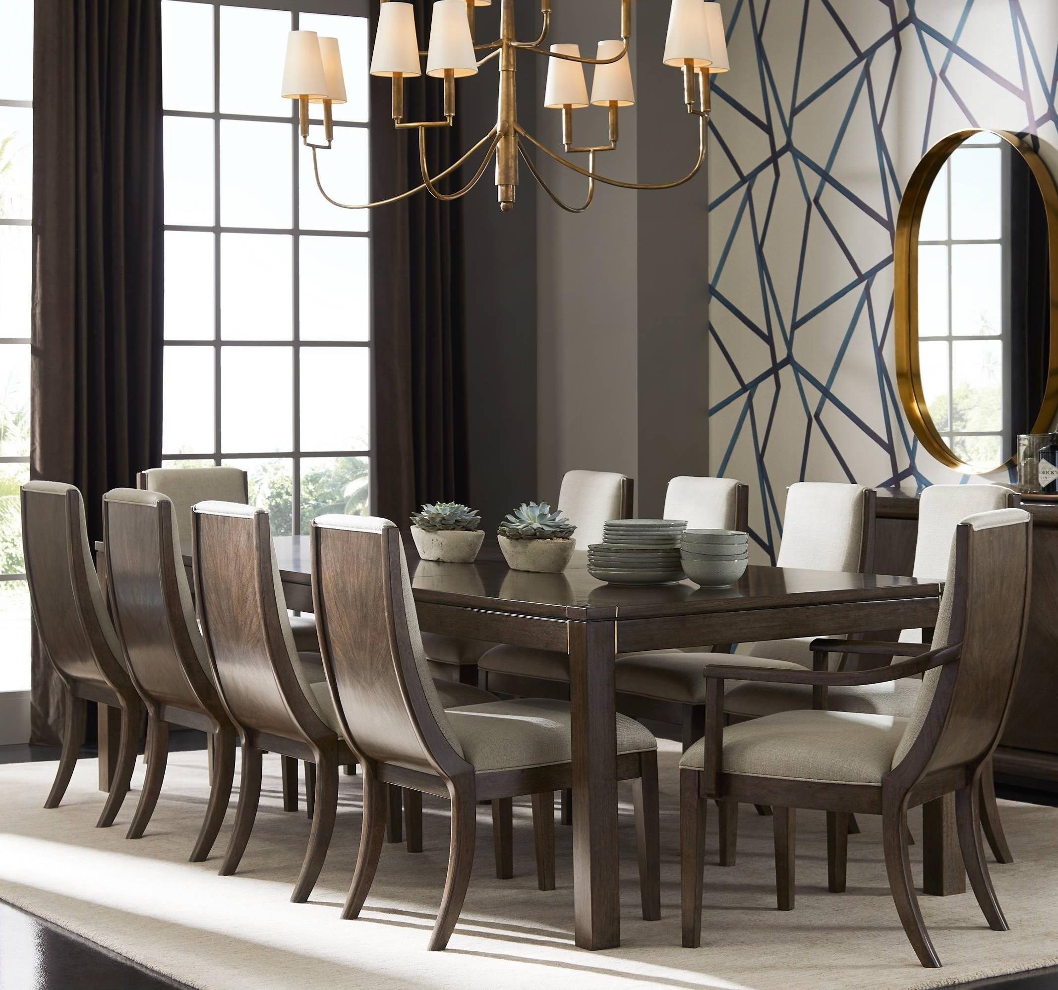 Stanley Furniture Panavista11 Piece Archetype Dining Table Set ...
