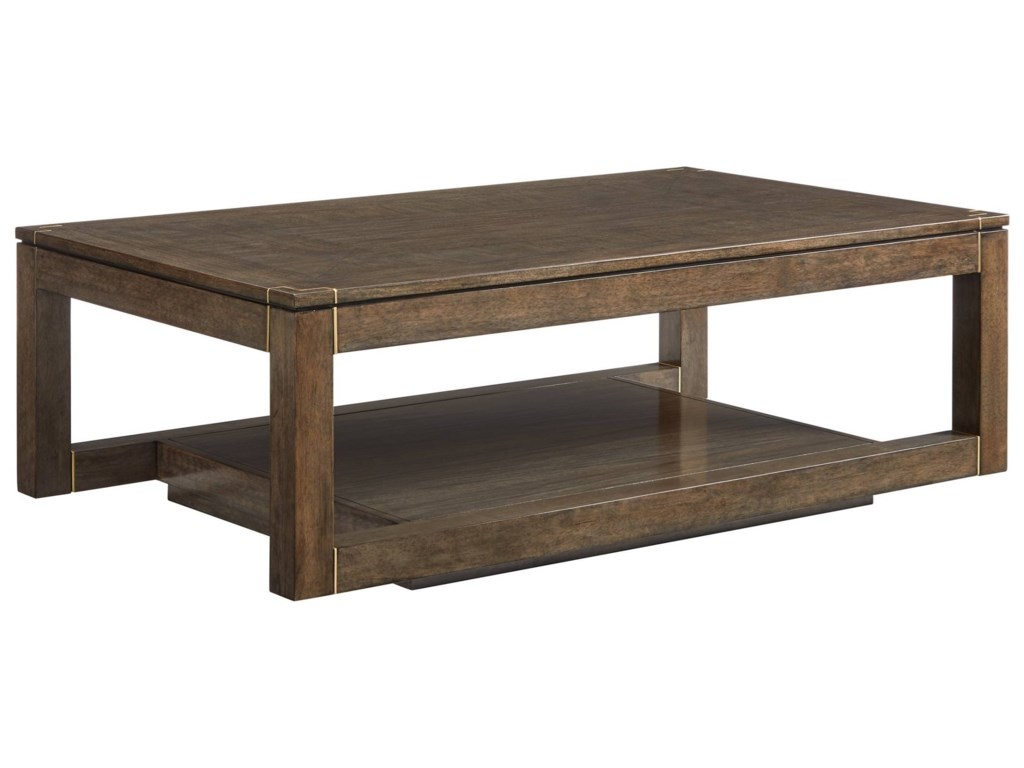 Stanley Furniture PanavistaFloating Parsons Rectangular Cocktail Table