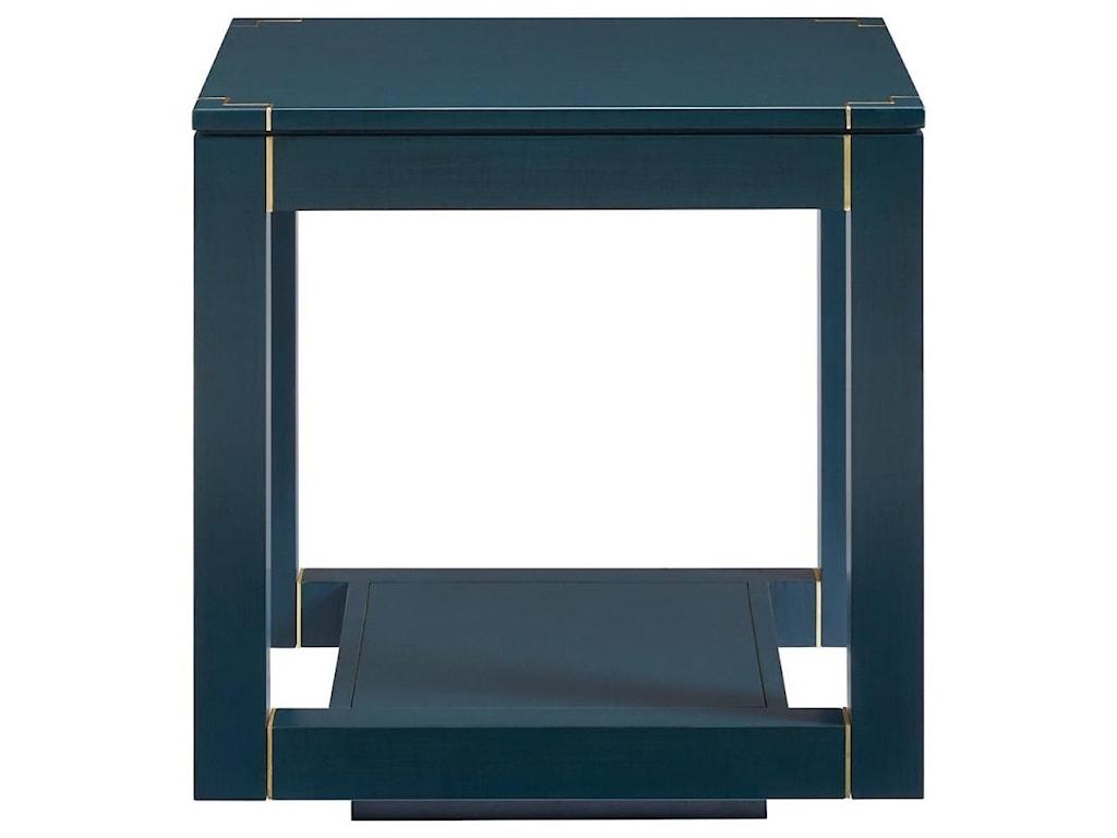 Stanley Furniture PanavistaFloating Parsons End Table